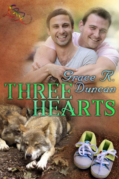 Three Hearts Cover Reveal!  Pre-order available now!