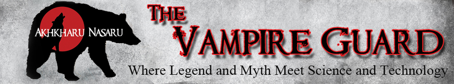 Throwback Thursday – The Vampire Guard series by Elizabeth Noble