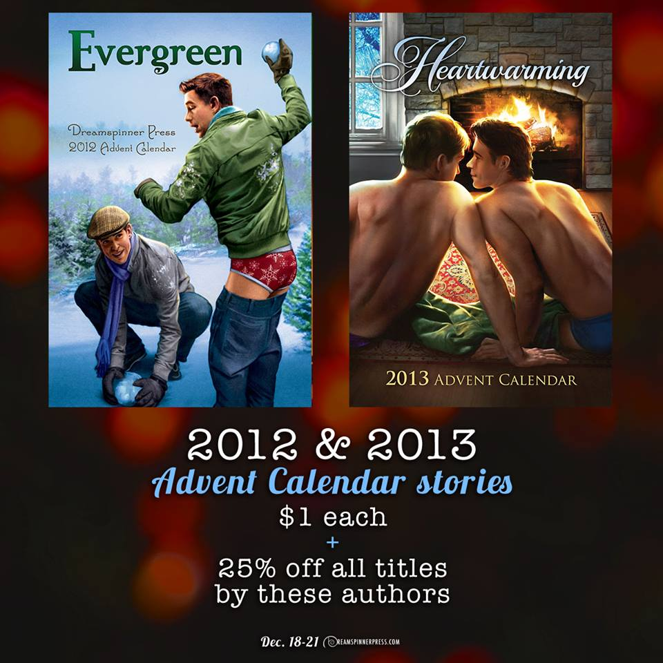 Celebrating You, and other Advent Stories from 2012 and 2013, on sale!!