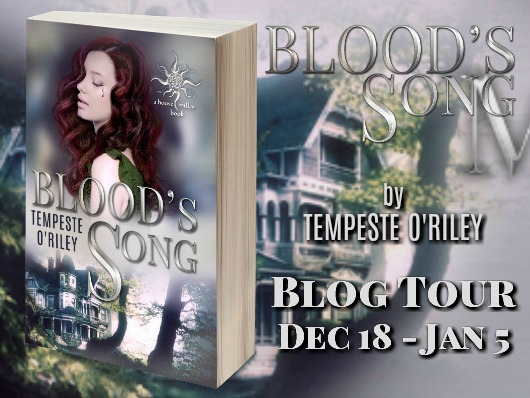 Blood's Song Release Tour and Giveaway with Tempeste O'Riley