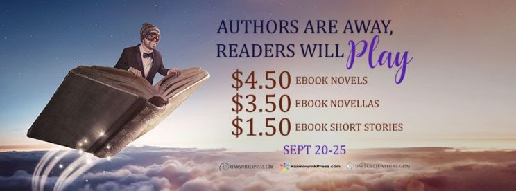 Sale at Dreamspinner Press from September 20 to September 25!