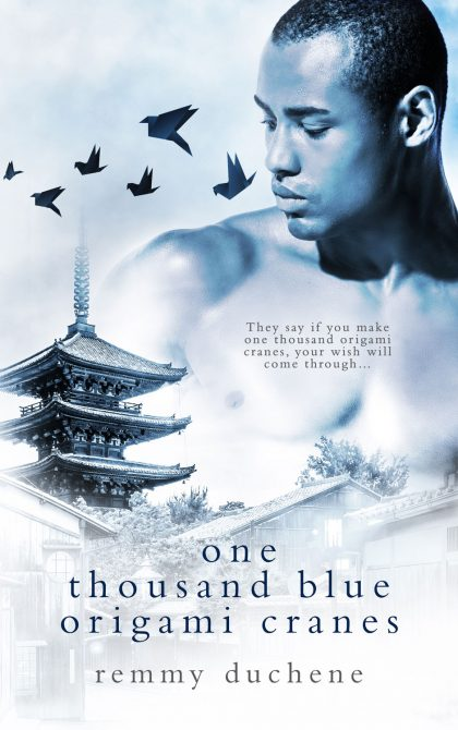 Check out One Thousaid Blue Origami Cranes by Remmy Duchene