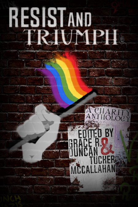 Resist and Triumph Anthology Cover Reveal