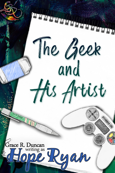 The Geek and His Artist is out today!! <3