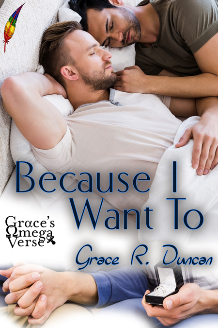 Because I Want To releases on 12/18/2020 and there's a giveaway at QueeRomance Ink!!